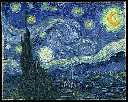 Van Gogh's 'Starry Night' - Saint Remy de Provence
