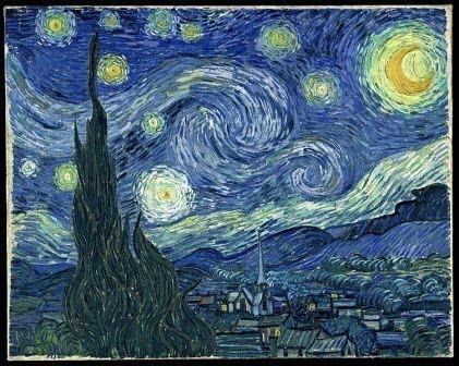Van Gogh's 'Starry Night' - Saint Remy de Provence