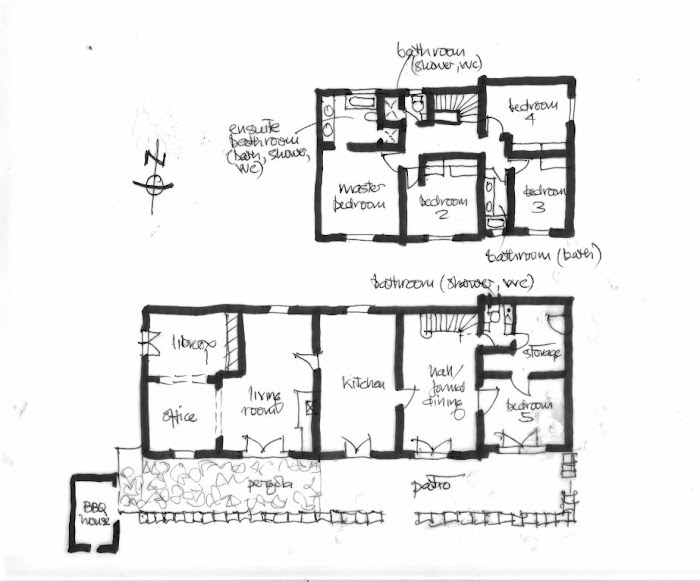 Floor plan vacation rental in provence holiday house for Rental property floor plans