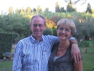 Private Owners, Paul and Bente Evans, on the Grounds of the Rental Property